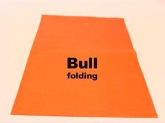 Bull (Neal Elias) (Danielle Verbeeten) Tags: paper origami bull animation folding stopmotion stier nealelias papiervouwen ingetheunissen danielleverbeeten