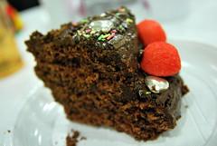 Gteau au Chocolat & Tagada (SugaHill21) Tags: dessert chocolatecake fraisetagada gteauauchocolat