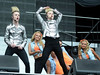 John Grimes and Edward Grimes of Jedward The final ever performance of record breaking boyband Westlife at Croke Park Dublin, Ireland