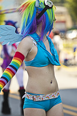 Pride Day 2012 (will139) Tags: people canon indianapolis parade lgbt prideday cameltoe allpeople