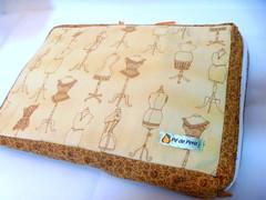 Capa de Notebook (P de Pera) Tags: case tecido capadenotebook pdepera
