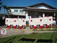bando cocós (Ma Ma Marie Artcountry) Tags: chicken cortina patchwork hen cocós bandô galinhatecido bandôdegalinhas cortinadegalinha