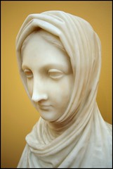 Herm of a Vestal Virgin (greenthumb_38) Tags: sculpture losangeles virgin bust getty marble gettymuseum 1022mm vestal canova thegetty herm canonefs1022mmf3545usm antoniocanova vestalvirgin jeffreybass