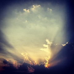 Hai cu apa! #sunset (Andy Ostafi) Tags: square squareformat iphoneography instagramapp xproii uploaded:by=instagram