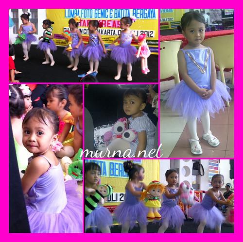 1st ballet performance