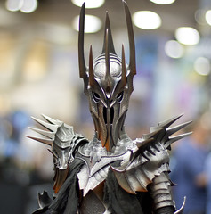 Awesome Sauron figurine (San Diego Shooter) Tags: portrait cool sandiego cosplay bokeh lordoftherings uncool comiccon thehobbit sauron halloweencostumes sandiegocomiccon cool2 cool3 costumeideas sexyhalloweencostumes comicconcostumes uncool2 uncool3 uncool4 uncool5 uncool6 uncool7 thepinnaclehof comiccon2012 comiccon2012costumes comiccon2012cosplay sauronfigurine tphofweek159