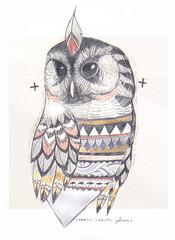 Búho Cósmico (carlossadness) Tags: sadness carlos owl