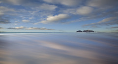 Catchlight (Ray Bradshaw.) Tags: lighthouse seascape water clouds landscape sand godrevy refelections tiekie cornwallsea