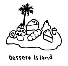Dessert Island (Don Moyer) Tags: ink notebook dessert island sketch drawing doodle moyer brushpen moleskin donmoyer