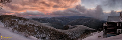 cold_comfort (southern_skies) Tags: trees sunset snow alps clouds australia hotham