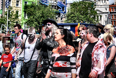 DUBLIN ZOMBIE WALK 2012 (cezzar1981) Tags: ireland dublin irish dead zombie walk cancer society 2012 barnardos irsh