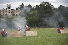 Midlands History Festival #101 (Persuasive Photography) Tags: red festival infantry medieval coats vikings boar cavalry overstone reenactments midfest midlandshistoryfestival