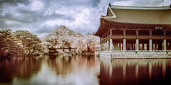 The Garden of the Emperor (Werner Kunz) Tags: trip travel mountain lake snow water photoshop garden nikon asia wideangle palace korea seoul infrared hdr colorefex photomati tonika d7000 topazadjust werkunz1