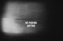 No parking, Anytime (Louis PERPERE) Tags: new york blackandwhite usa america nikon noir o manhattan united parking states nikkor et blanc unis anytime etats f3556 1685mm d7000