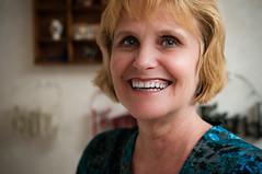 Smiling eyes (Sean Lowcay (sealow08)) Tags: newzealand portrait people woman mom nikon country mother mum nurse kiwi newzealander d90 my nikond90