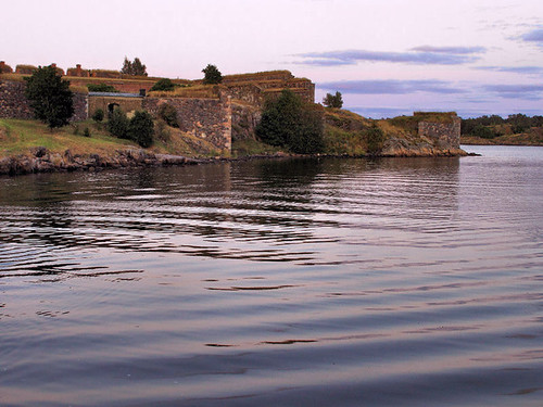Some Walls of the Sea Fortress