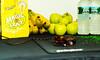 Healthy Gaming (Ruanon) Tags: boy green apple water hat night computer mouse vegan spring healthy circus magic release pad poland banana gaming bananas mousepad vegetarian apples cyborg binge prepared magichat razer circusboy goliathus guildwars2