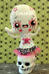 Boonnie (Ana Camamiel) Tags: halloween monster doll handmade ghost felt fantasma monstruo mueca fieltro