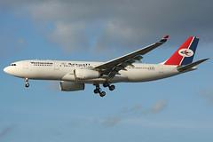 7O-ADP Yemenia A330-243 Heathrow 07/10/2006 (Tu154Dave) Tags: heathrow a330 lhr yemenia a330243 7oadp