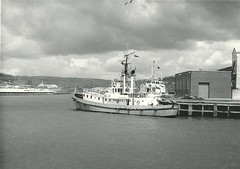 "Swansea Pilot ""Seamark"" (hugh llewelyn) Tags: swansea docks topsail pilot seamark alltypesoftransport"