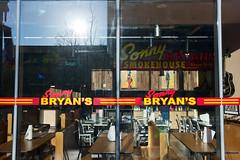 Sonny Bryan's (hishma) Tags: reflection window restaurant utah saltlakecity sonnybryans summicronm1235mm leicam9p