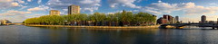 Lige Meuse & Outremeuse (Falcdragon) Tags: city panorama 35mm river europe belgium minolta sony mc alpha f28 a7 meuse lige hugin rokkor photoninja outremeuse ilce7