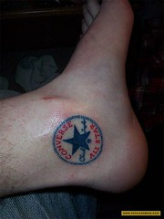 converse all star ankle tattoo design (tattoos_addict) Tags: tattoo star design all converse ankle startattoo