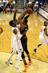 Will Yeguete on Defense (dbadair) Tags: basketball war university eagle florida gators auburn tigers sec uf 2014
