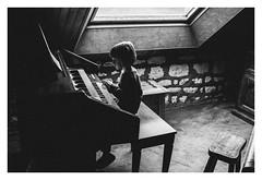 (clabougni / Antoine Chaffiol) Tags: wood portrait bw keyboard piano nb