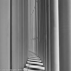 PHILHARMONIE LUXEMBOURG III (rolleckphotographie) Tags: shadow urban architecture square sony minimal architektur minimalism schwarzweiss schatten luxemburg philharmonieluxembourg slta65v rolleckphotographie stefanrollar