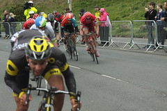 Sprint Finish (Steve Dawson.) Tags: road uk england cars race canon eos is 1st yorkshire may bikes cycle tdy finish scarborough usm ef28135mm sprint stage3 uci peloton 2016 f3556 50d ef28135mmf3556isusm canoneos50d tourdeyorkshire