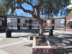Entrance Plaza at Surprise Stadium -- Surprise, AZ, March 09, 2016 (baseballoogie) Tags: arizona canon baseball stadium az powershot surprise ballpark springtraining royals kansascityroyals cactusleague baseballpark surprisestadium 030916 sx30is canonpowershotssx30is baseball16