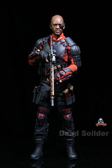 ART FIGURES AF-021 Dead Soilder - 011 (Lord Dragon ) Tags: hot toys actionfigure doll willsmith onesixthscale deadshot 16scale artfigures 12inscale