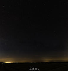 Between lines and dots.... Canopy of heaven (ZeGaby) Tags: france nature stars panoramic astrophotography fr milkyway shootingstar sigma1835mm condsurmarne pentaxk3 alsacechampagneardennelorraine alsacechampagneardennelorrain