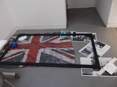 23rd May 2016 (themostinept) Tags: pictures london paper floor pages flag ground posters unionjack se1 pictureframe