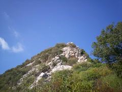mooning (ignaz906) Tags: sardegna morning blue sky moon rock sardinia hill mooning clove sulcis iglesiente sulcisiglesiente