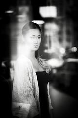 samsoul (samsoul-sami) Tags: paris france girl beauty noir nb et blanc asiatique parisienne