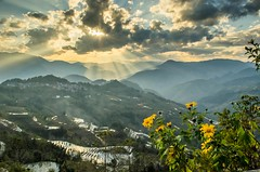 LaohuzuiSS1 (Furjio) Tags: china sunset sky landscape terraces yunnan riceterraces yuanyang