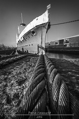 Boat on a Rope (dareangel_2000) Tags: dariacasement northernireland belfast coantrim heritage history local interesting photography vintage retro refurbished battleship cruiser naval navy maritime hmscaroline thelook greatphotographers
