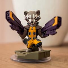 Disney Infinity: Rocket Racoon (Sergey Galyonkin) Tags: toy infinity disney ttl guardiansofthegalaxy rocketracoon toystolife