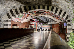 Konst i Stockholms t-bana (Ana >>> f o t o g r a f  a s) Tags: underground subway europa europe metro sweden stockholm schweden sverige scandinavia sthlm hdr estocolmo stoccolma suecia tunnelbana fused tbana kungstrdgrden tunnelbanan photomatix escandinavia hdrworldsweden