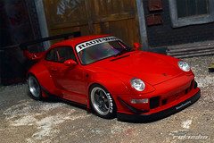 Porsche 911 (993) RWB - Rauh Welt (rokusho09) Tags: wheel japan dish porsche rwb stance welt 993 rauh rauhwelt