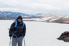 Day 1: On the Laugavegur trail (soumit) Tags: trek iceland august hike icefield soumit 2015 laugavegurinn laugavegurtrail trekis