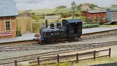 DSC00211 (BluebellModelRail) Tags: buckinghamshire may exhibition aylesbury bankholiday modelrailway charmouth 2016 railex o165 stokemandevillestadium rdmrc