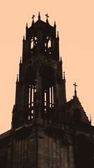 a silhouette of faith (williamw60640) Tags: chicago church catholicchurch frenchgothic stitas edgewaterbeach