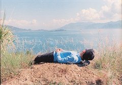 000028 (Hunh Thanh Thng) Tags: ocean summer film beach canon kodak viet 100 bien nam trang nha ektar cy c