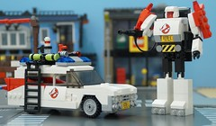 Autobot Specter (Hobbestimus) Tags: movie lego cartoon transformers 80s ghostbusters moc ecto1