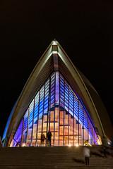 COLOURED ARCH (scatrd) Tags: afsnikkor24120mmf4gedvr jasonruthphotography mynikonlife australia photowalk city 2016 nsw blueandbeyondimages newsouthwales jasonbruth night vivid vivid2016 d810 nightphotography sydney au