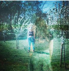 waterchloe (Hannah Jade Cleary) Tags: film 35mm lomography doubleexposure dianamini