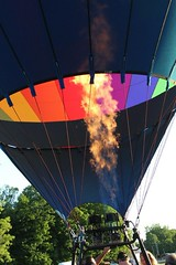 IMG_1611 (thehachland) Tags: sunset fire flames balloon hotairballoons ballstonspa saratogacounty saratogacountyfairgrounds saratogaballoonandcraft
